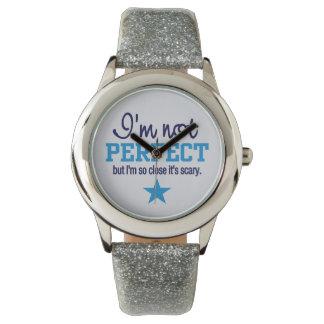Relojes no perfectos del personalizado