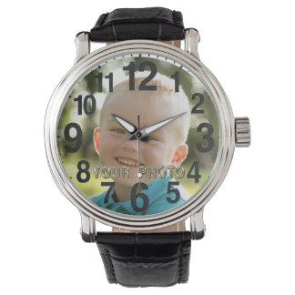 Relojes personalizados de la IMAGEN para los
