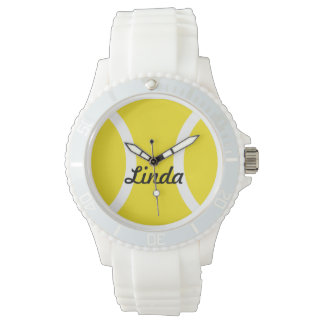 Relojes personalizados de la pelota de tenis con