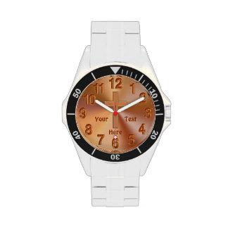 Relojes personalizados del CRISTIANO para los