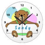 Relojes personalizados del oso de peluche