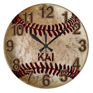 Relojes PERSONALIZADOS únicos sucios del béisbol