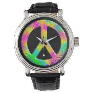 Relojes psicodélicos del diseño del arte del