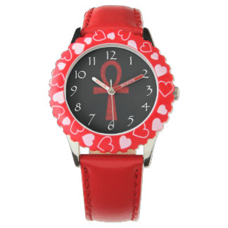 Relojes rojos de Ankh