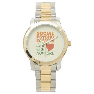 Relojes sociales de los psicólogos