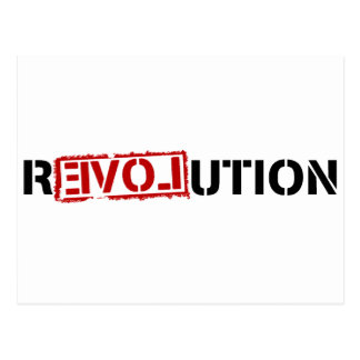 Reloveution Postcard