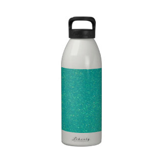 Reluciente contemporáneo de lujo elegante elegante botella de agua reutilizable
