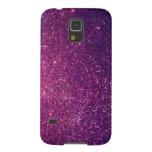 Reluciente contemporáneo de lujo elegante elegante funda de galaxy s5
