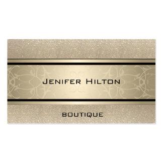 Reluciente de lujo moderno elegante profesional tarjetas de visita