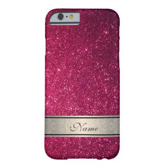 Reluciente de moda femenino lindo elegante funda para iPhone 6 barely there