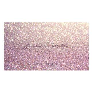 Reluciente elegante atractivo profesional plantilla de tarjeta de visita