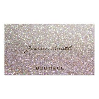 Reluciente elegante atractivo profesional tarjetas de visita