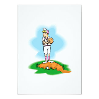 Reluctant Pitcher Card