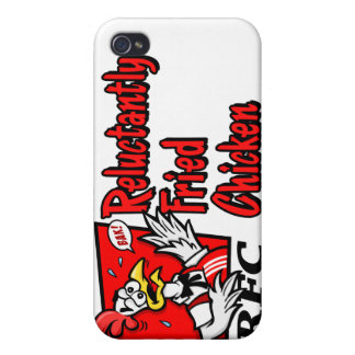 Reluctantly Fried Chicken Case For iPhone 4
