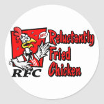 Reluctantly Fried Chicken Stickers