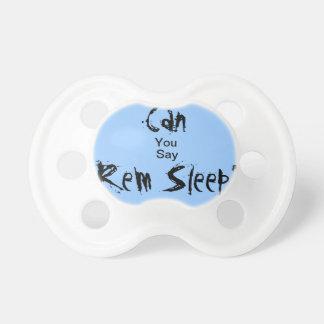 Rem Sleep pacifier
