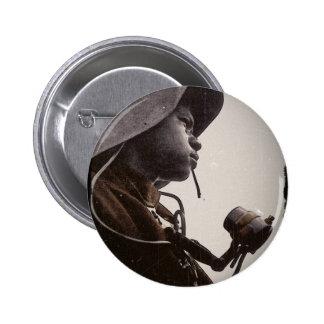 Remachador de Rosie del afroamericano Pins