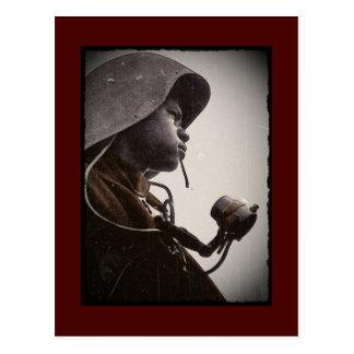 Remachador de Rosie del afroamericano Postales