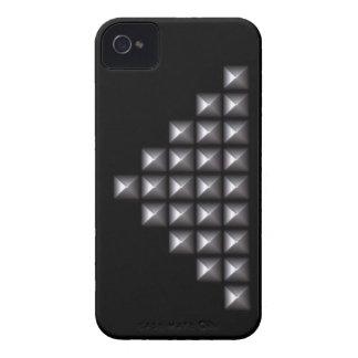 Remaches de plata Case-Mate iPhone 4 funda