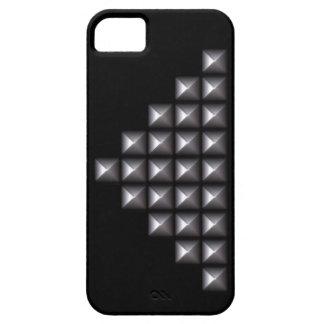 Remaches de plata iPhone 5 Case-Mate carcasas
