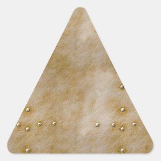 Remaches de Steampunk Calcomania Triangulo