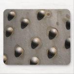 Remaches del hierro alfombrilla de ratones