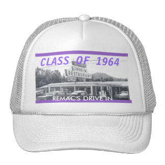 Remac's Drive IN to up load to Zazzle, CLASS O... Trucker Hat