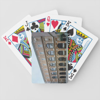 Remaining wing of a monastery, now the Academy of Bicycle Playing Cards