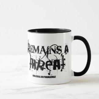 Remains a Threat-Section cycle ward -mug Mug