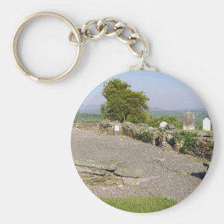 Remains Of A Medieval Church In Old Kilcullen, Co. Key Chains