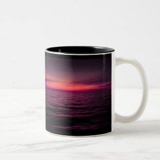 Remains of a Sunset Two-Tone Coffee Mug