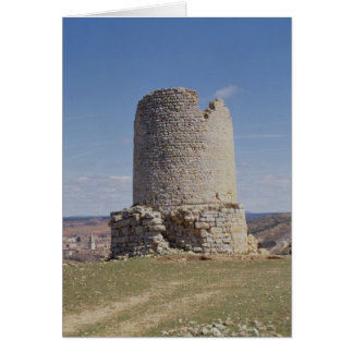 Remains of a Tower from the city of 'Uxama Argelae Cards