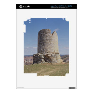 Remains of a Tower from the city of 'Uxama Argelae iPad 3 Skins