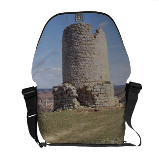 Remains of a Tower from the city of 'Uxama Argelae Messenger Bag