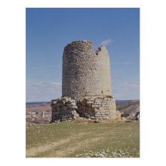 Remains of a Tower from the city of 'Uxama Argelae Postcard