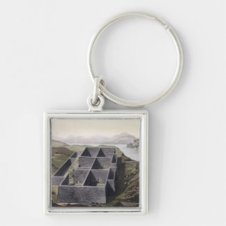 Remains of an Inca palace at Callo, Peru, from 'Le Keychain