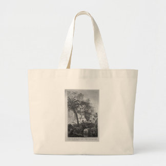 Remains of ancient buildings including the Urn Large Tote Bag