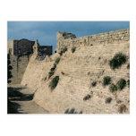 Remains of the fortress walls, built c.37-31 BC Postcard