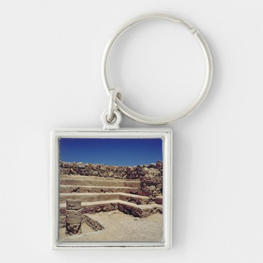 Remains of the fortress walls, c.37-31 BC Keychain