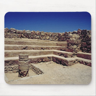 Remains of the fortress walls, c.37-31 BC Mouse Pad