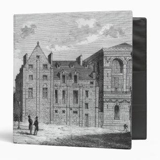 Remains of the Montaigu College, c.1850 Binder
