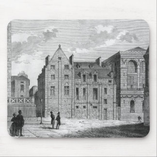 Remains of the Montaigu College, c.1850 Mouse Pad
