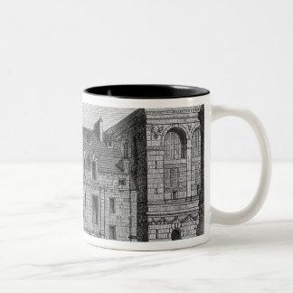 Remains of the Montaigu College, c.1850 Two-Tone Coffee Mug