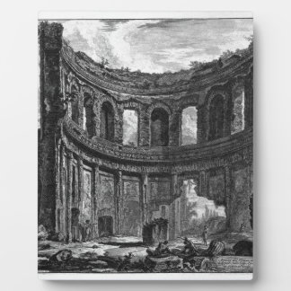 Remains of the Temple of Apollo said in Hadrian`s Plaque
