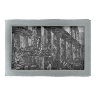 Remains of the Temple of Neptune`s cell Giovanni Belt Buckle