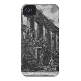 Remains of the Temple of Neptune`s cell Giovanni iPhone 4 Cover