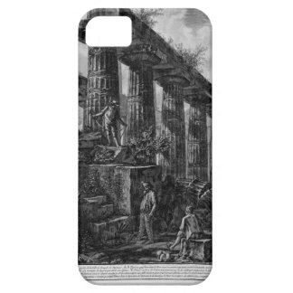 Remains of the Temple of Neptune`s cell Giovanni iPhone SE/5/5s Case