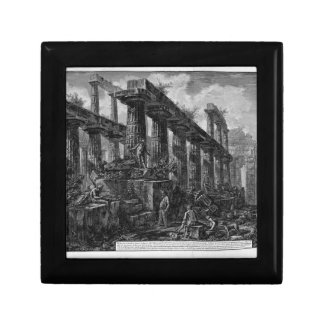 Remains of the Temple of Neptune`s cell Giovanni Keepsake Box
