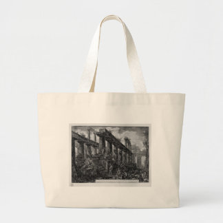 Remains of the Temple of Neptune`s cell Giovanni Large Tote Bag