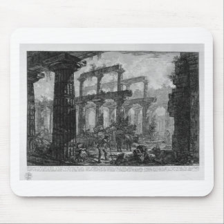 Remains of the Temple of the same cell by Giovanni Mouse Pad